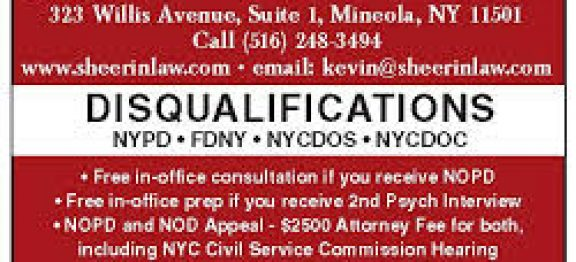 3 1/2 hour second NYPD psychological interview results in disqualification reversal